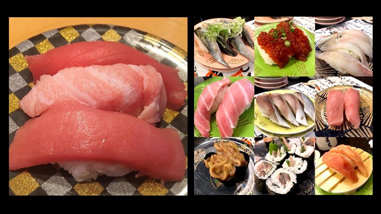 北海道の名物グルメ~回転寿司
