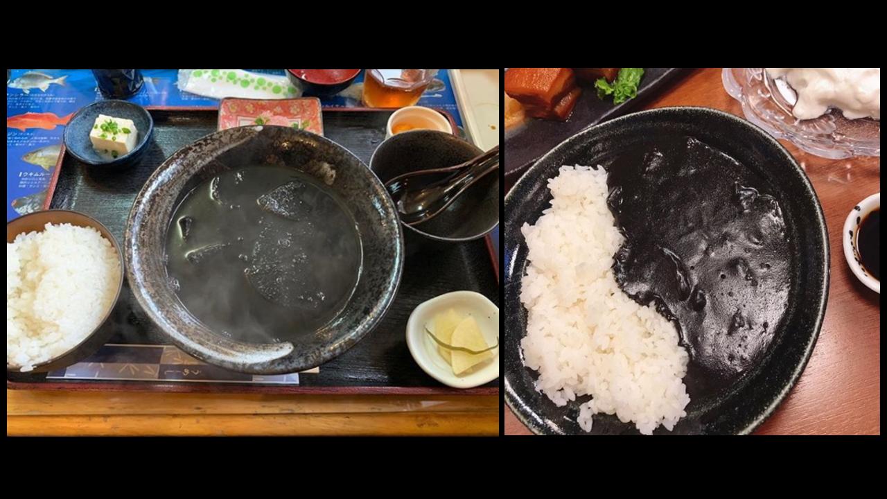 沖縄県の名物グルメ~イカスミ汁